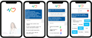 Koronavirukseen altistuneen henkilön mobiili seuranta